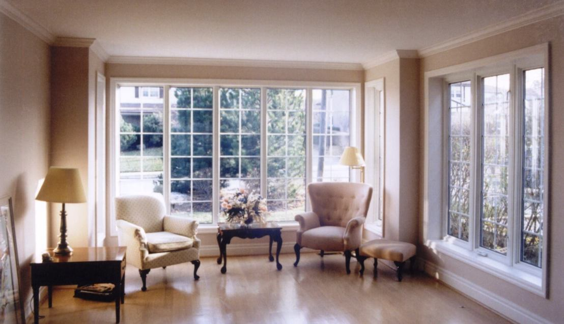 A living room full of windows - MacEwen Glass & Mirror