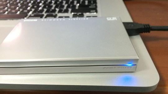 MacBook Pro Retina を Time Machine でバックアップする手順