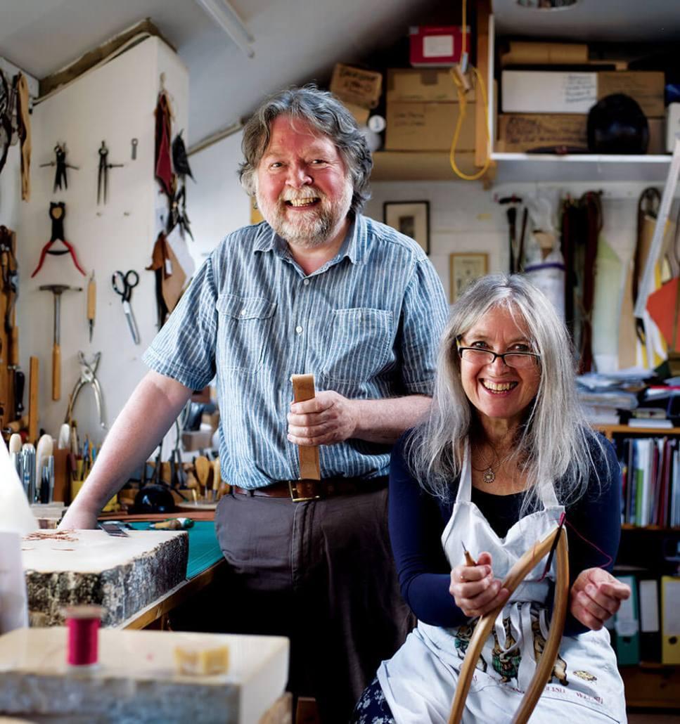 Valerie Michael & Neil MacGregor