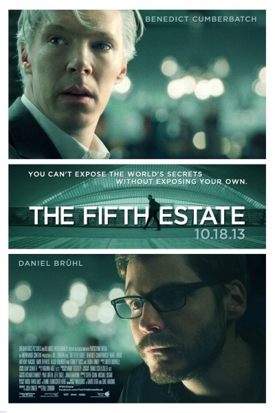 The Fifth Estate Movie Poster from director Bill Condon and starring Benedict Cumberbatch