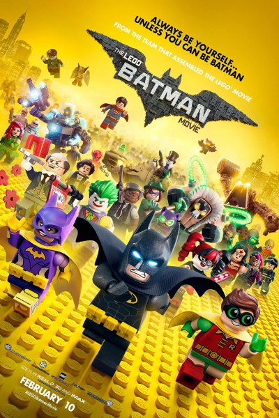 Lego Batman Movie Poster Image