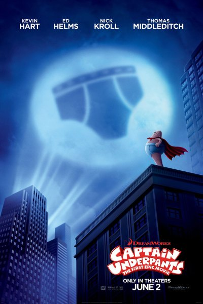 Captain Underpants: The First Epic Movie Poster