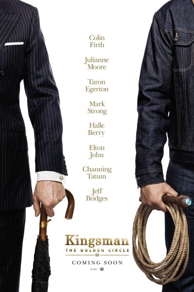 Kingsman: The Golden Circle Movie Poster
