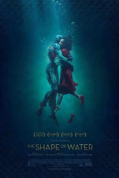 Shape of Water Movie Poster