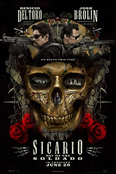 Sicario: Day of the Soldado Movie Poster