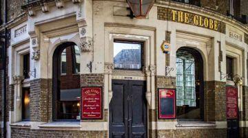 Globe pub, escenarios de cine en Londres