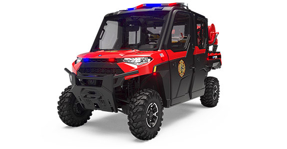 2019 Polaris Ranger Crew XP 1000 EPS HVAC - All Weather Fire Fighting & Rescue Package