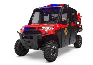 Polaris Ranger Crew XP 1000 HVAC Fire & Rescue Model