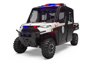 Polaris Ranger Crew XP 1000 HVAC Police Model