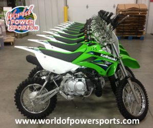 Kawasaki KLX110 Motorcycle for Government
