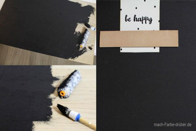 DIY Memoboard / Fotowand mit kostenlosen Postkarten Druckvorlagen, Step by Step Anleitung