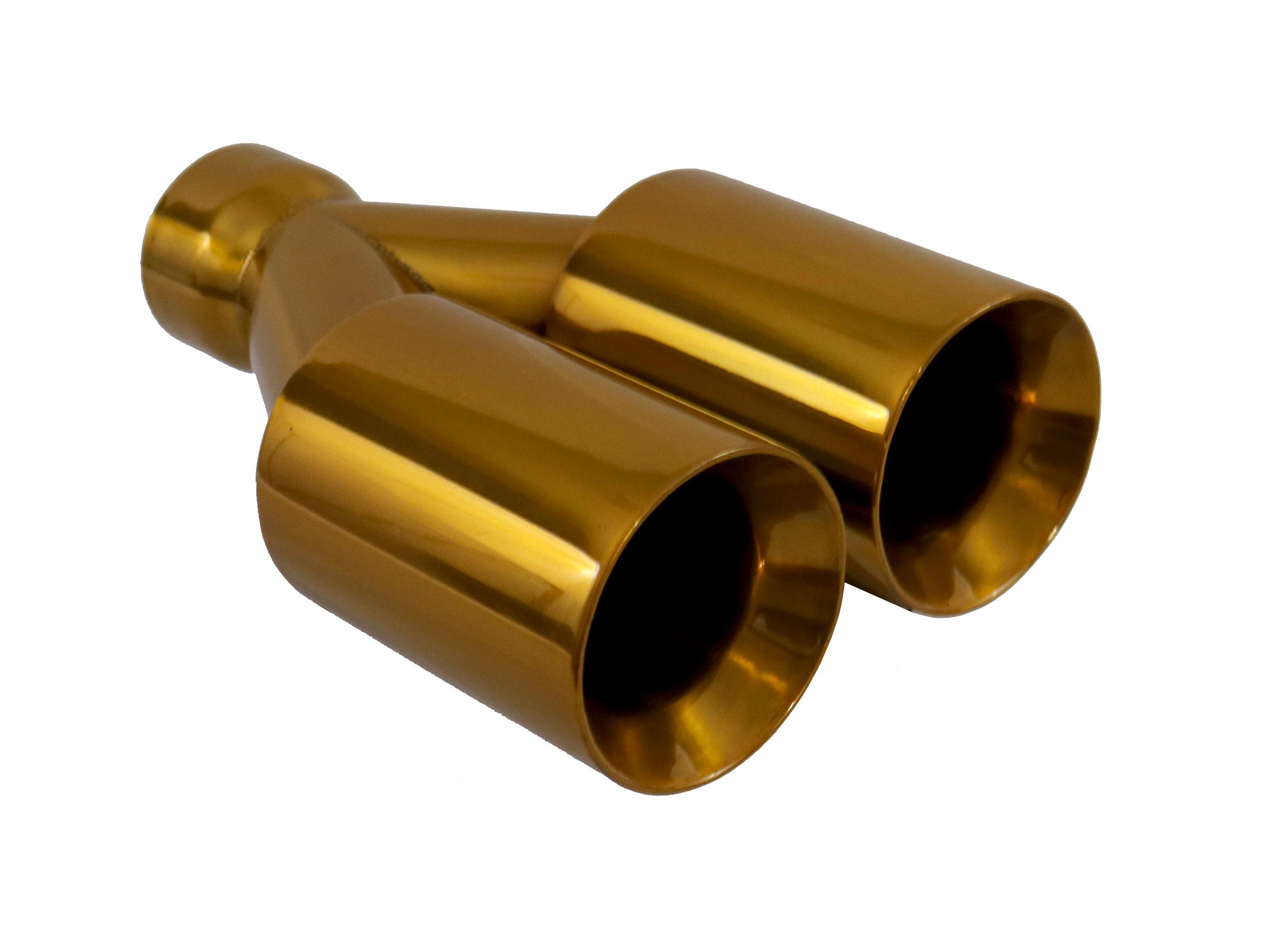 powder coat miami cuban gold exhaust