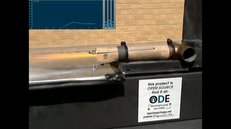 Shepard Rocket Motor Test Stand | Apogee III | Mach 30