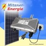 Mitzner Energie Piraten-/BalkonanlageE 1 Plug&Play PV 275WP
