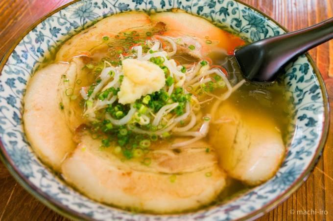 中華料理 一龍 ラーメン写真
