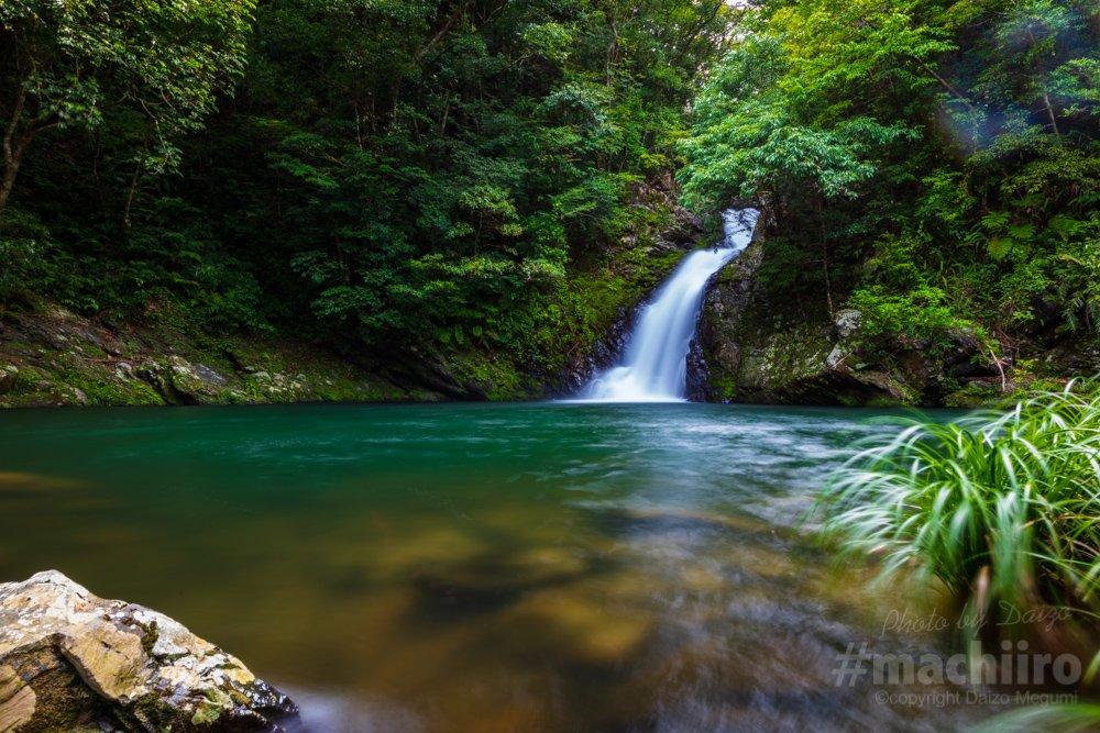 大和村マテリヤの滝