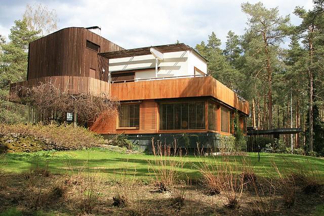 Villa Mairea, proj. Alvar Aalto (1939)