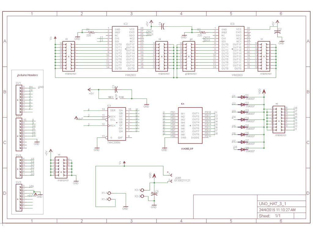 Codename Colossus PCB EAGLE Schematic