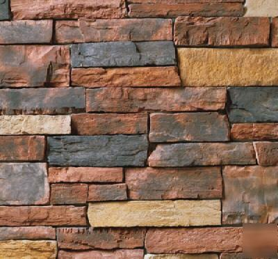 Owens corning stone red rock country ledgestone