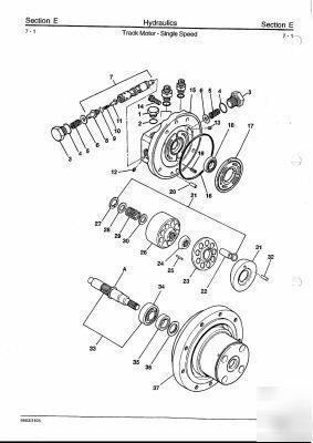 Jcb 8013, 8014, 8015, 8017, 8018 workshop manual