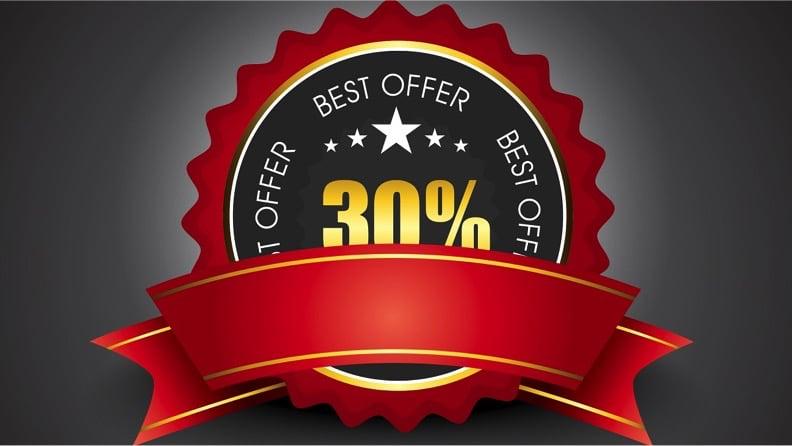 Cupom de 30%