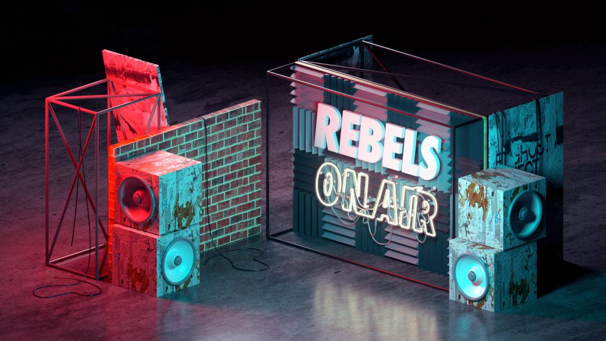 NIKE Rebels On Air Revolutionair Radio by Machineast Singapore design studio