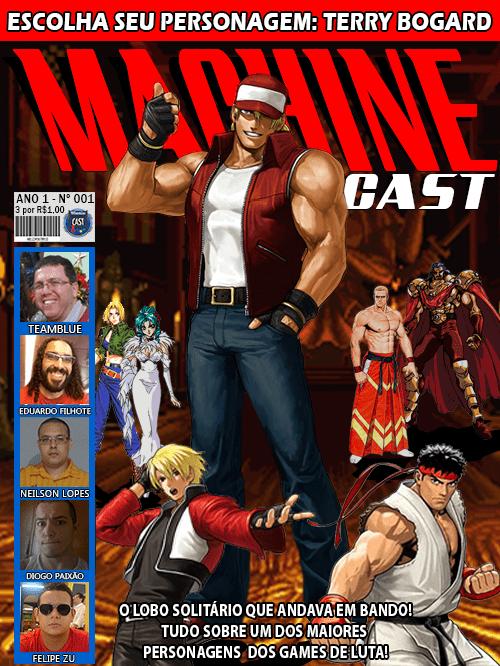 MachineCast #01 – Escolha seu Personagem – Terry Bogard