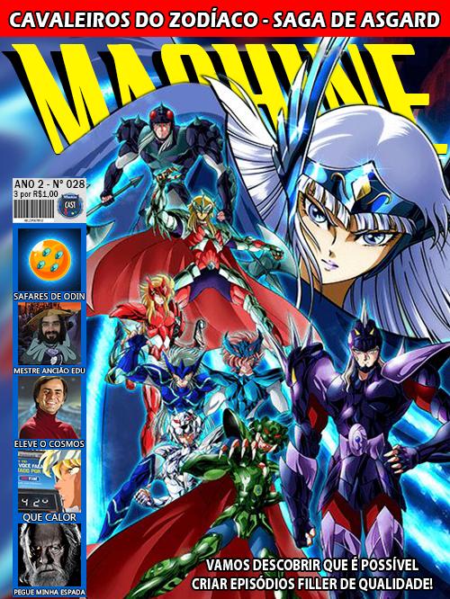 MachineCast #28 – Cavaleiros do Zodíaco – Saga de Asgard