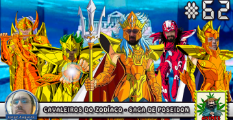MachineCast #62 – Cavaleiros do Zodíaco Saga de Poseidon