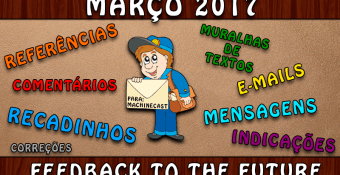 FeedBack To The Future: Março 2017