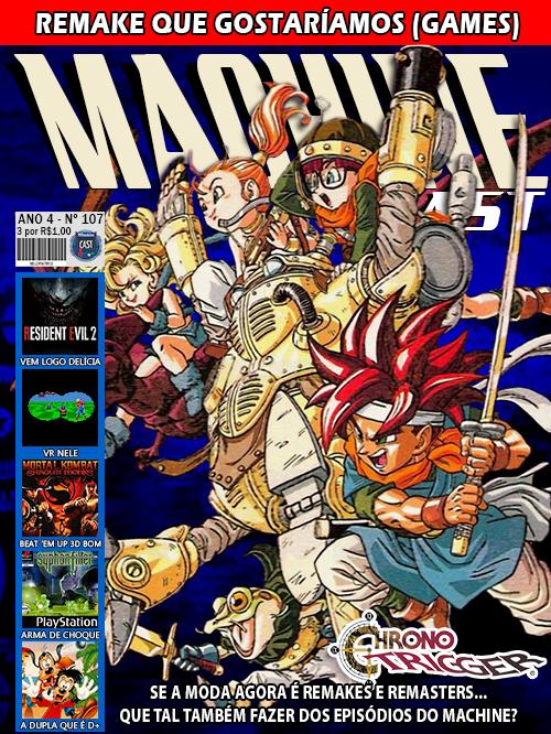 MachineCast #107 – Remakes que Gostaríamos (Games)