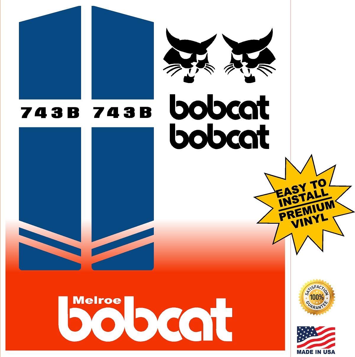 Bobcat 743b Replacement Decal Kit Machine Decals