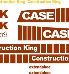 similiar case k decals keywords case 580k extendahoe new replacement decal kit [ 2400 x 1576 Pixel ]