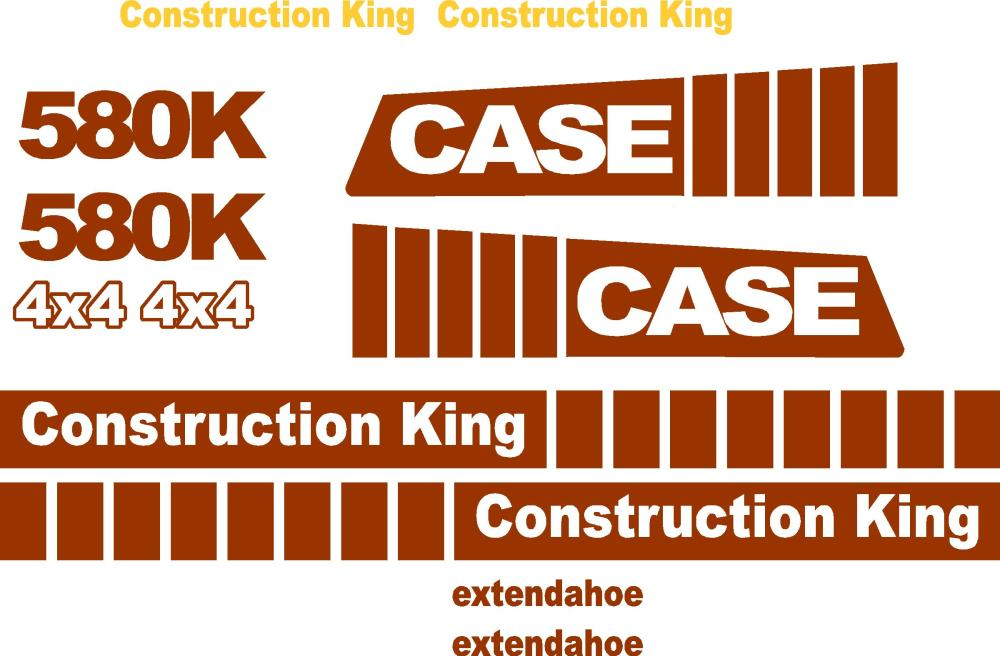 medium resolution of similiar case k decals keywords case 580k extendahoe new replacement decal kit