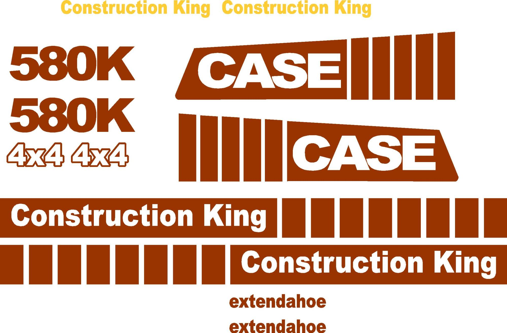 hight resolution of similiar case k decals keywords case 580k extendahoe new replacement decal kit