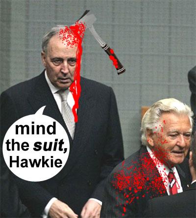 That's the spirit, Hawkie