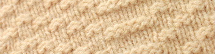 Close-up picture of knitted fabric