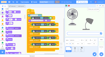 Scratch program with Machine Learning