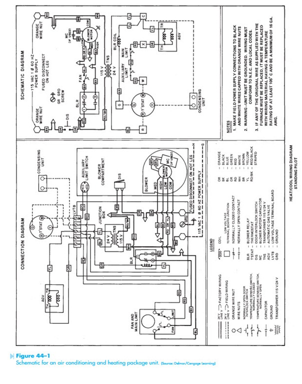 Ac Package Unit Wiring Diagram : 30 Wiring Diagram Images