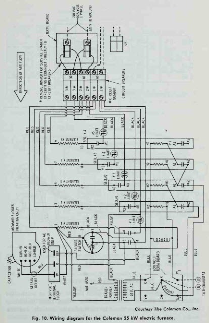 10 kw electric furnace wiring diagram  harmony bass wire