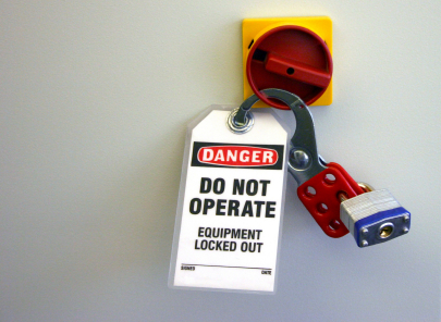 Using E-Stops in Lockout Procedures