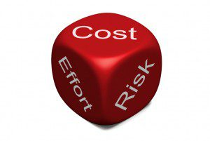 Risk vs. Cost and Effort
