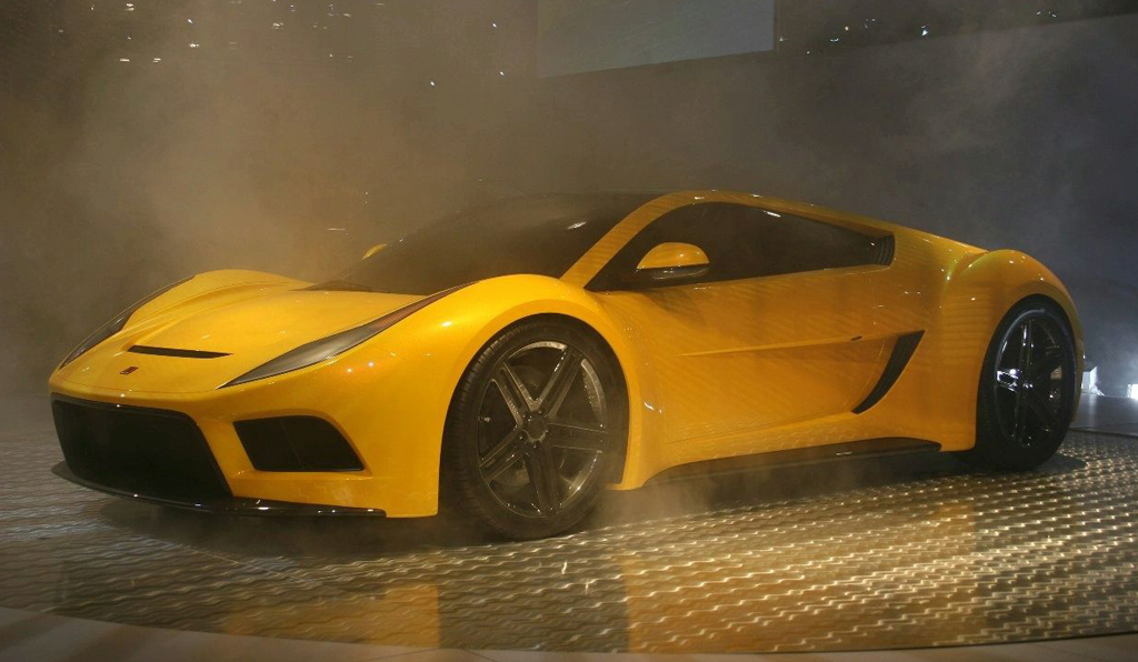 2012 Saleen S5S Super Car to Be Re-constructed | machinespider.com