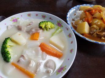 父の日のお昼ご飯(東館・男性)