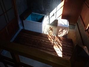 戸定邸のお風呂(全体)