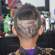 haircut design stylish