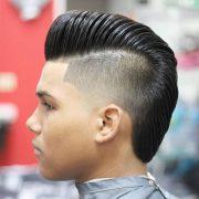 elegant men's medium hairstyles