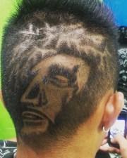 haircut design stylish