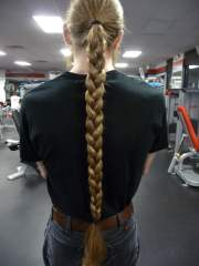 masculine braids long hair