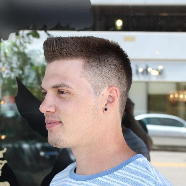 45 Exquisite Flat Top Haircut Designs New Style In 2019